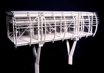 White Architectural Model