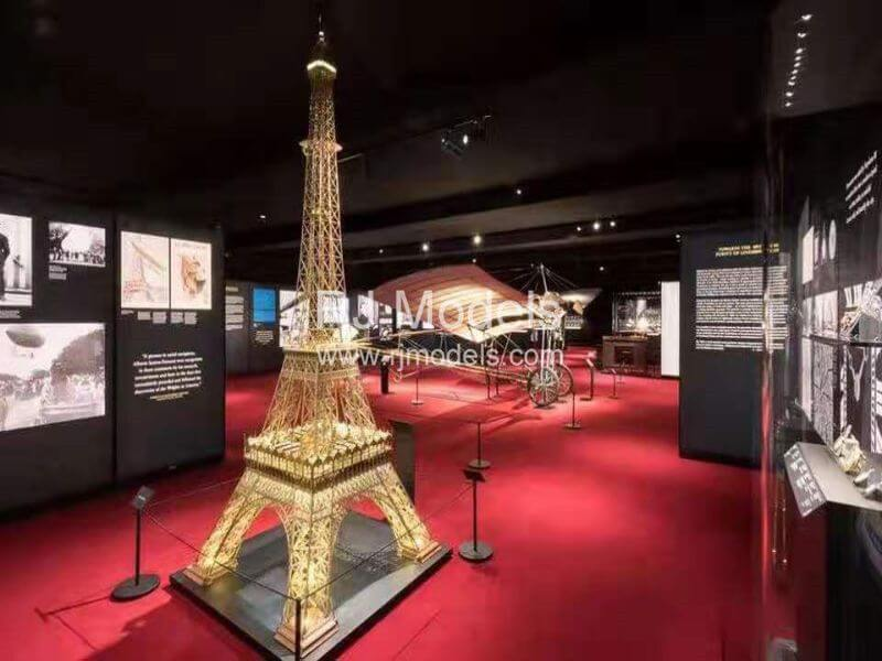 """""""Cartier in Motion"""" shows Eiffel Tower Architectural Model Building"""