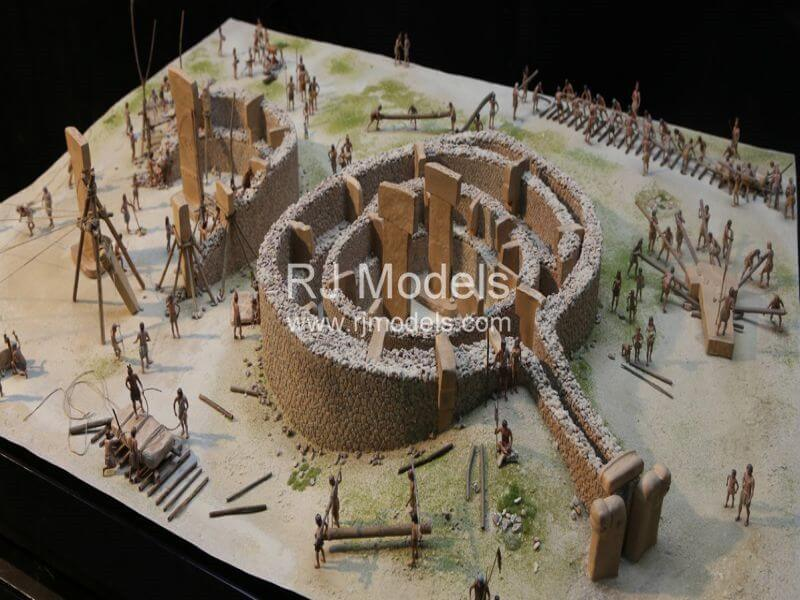 Gobekli Tepe Ancient Architectural Model for Mipim 2019
