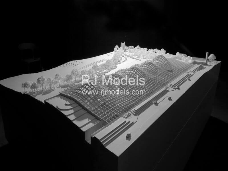 Edrington of Macallan new distillery 3D Printed Architectural Building Model