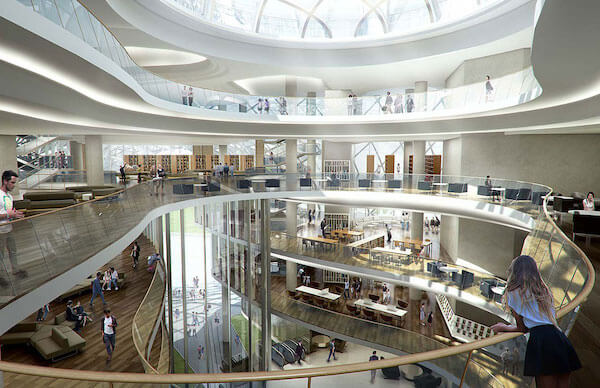 6 Modern Library Interior