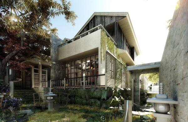 3D Architectural Residential Rendering