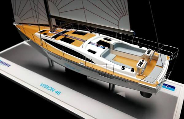 1. Bavaria Vision 46 Yacht Model (3)