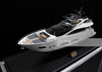 Flybridge Yacht Model