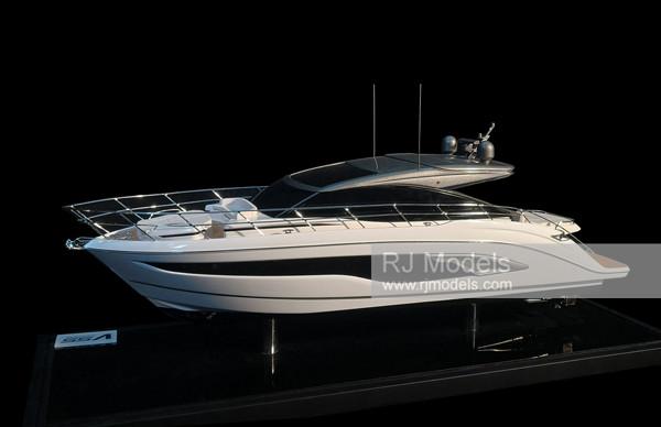 1. Princess V55 Yacht Model