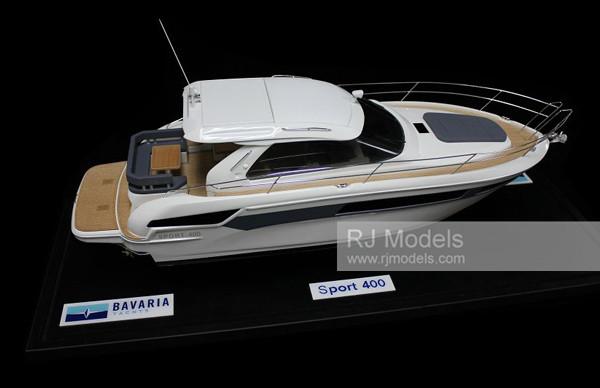 5. Bavaria Sport 400 Coupe Yacht model