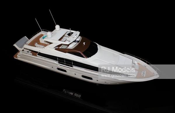 9. Ferretti 960 luxury charter yacht