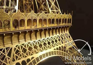 Eiffel Tower Architectural Model for London