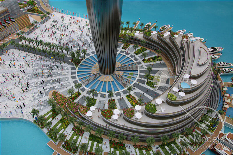 Dubai Habour Project Masterplan Model