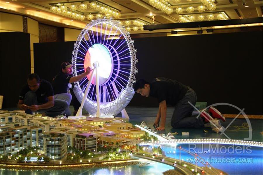 Ferris Wheel Hong Kong Island