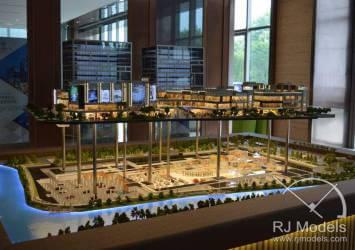 Shanghai New Jiangwan City Shopping Mall Model