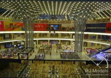 Retail Architectural Model, Dubai Airport Shopping Mall