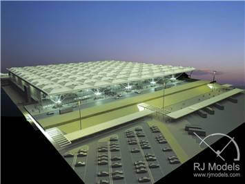 11.Stansted Airport Model