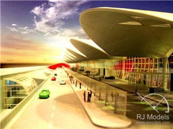 12.Hong-Kong-Airport-Model-Phase-1/Chek-Lap-Kok-Hong-Kong-International-Airport-Terminal-1