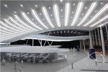 19.Hangzhou-Xiaoshan-International-Airport-Model-at-1_200