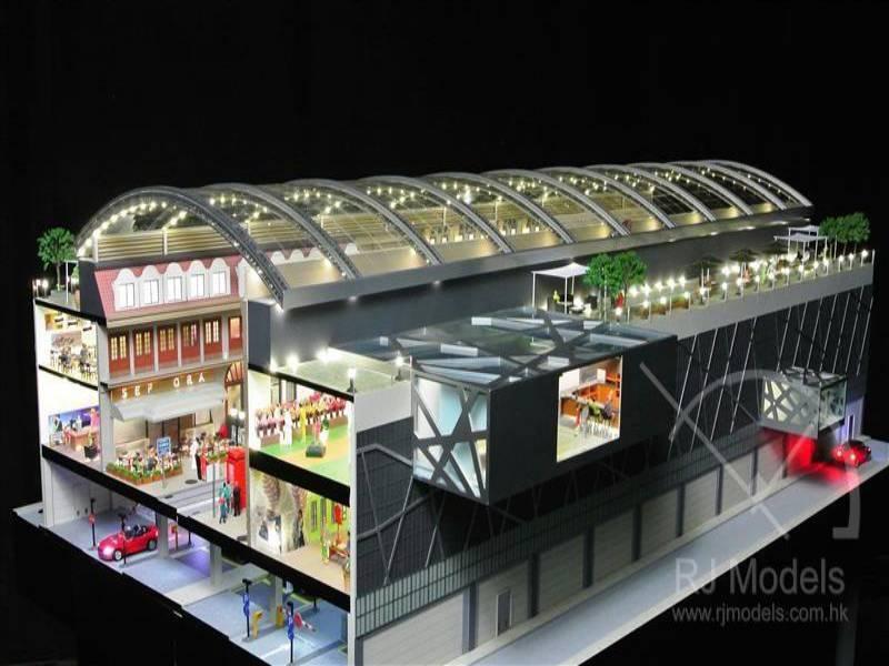 3.Jumeirah Hills Shopping Mall Model (1)
