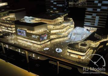 8-RetailArchitecturalModel-ChinaResource-Chongqing