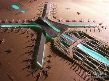 9.Abu Dhabi International Airport Model – Midfield Terminal Complex (MTC)