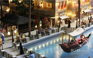 11-RetailArchitecturalModel-ProjectC-Dubai-1to50