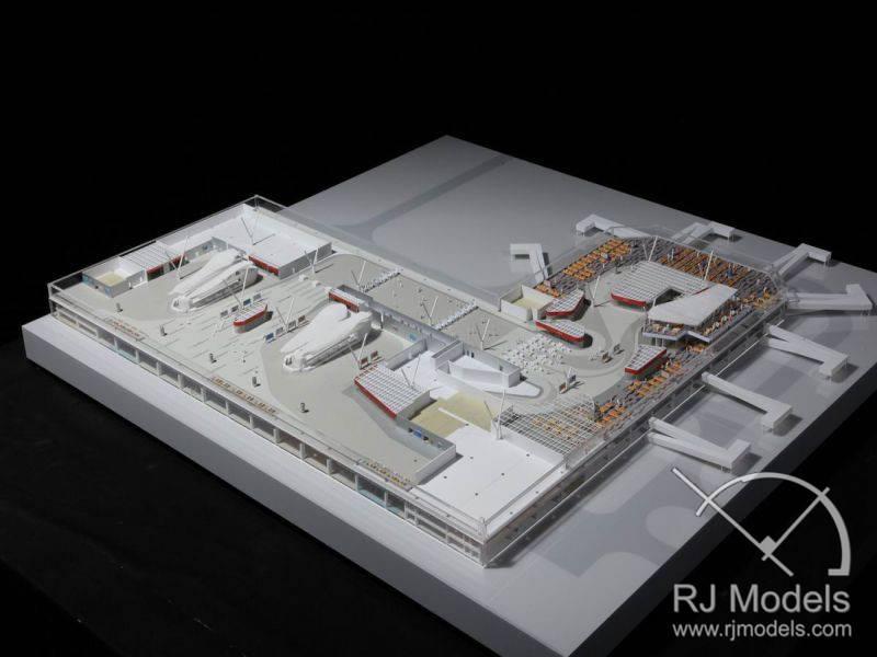 33.-Hang-Zhou-Airport-Termianl-Section-Model-1-200-3