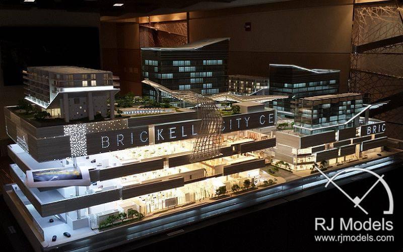 4-Brickell City Center ShoppingMmall Model
