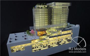 Dong Bu Building Shopping Mall Model